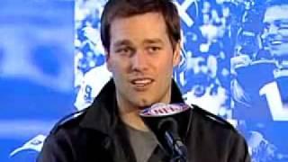 Tom Brady response to Plax prediction of Giants winning