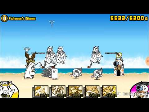 《The Battle Cats》Stories of Legend Swimming Cats〖★★ 2 stars〗