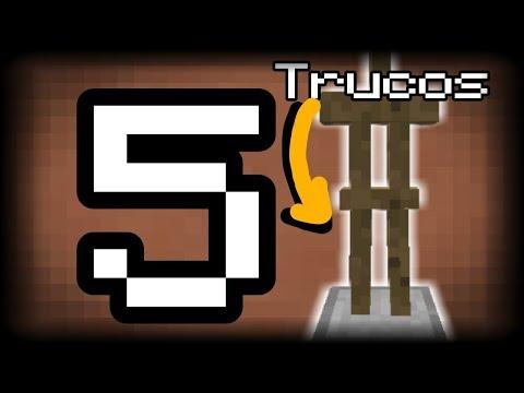TOP 5 TRUCOS CON EL ARMOR STAND EN MINECRAFT PE