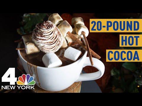 Oggetti Fantastici  0 La tazzona da 10 Kg di cioccolata calda!