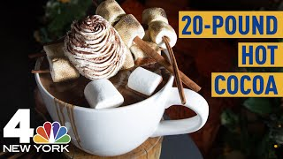 This Hot Cocoa Weighs 20 Pounds, Costs $375