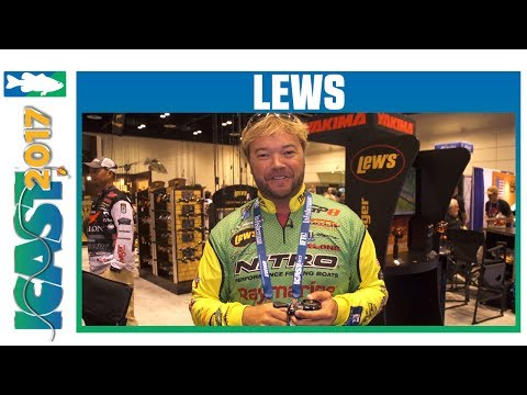 Lew's Super Duty Speed Spool LFS Casting Reel With Tim Horton | ICAST 2017