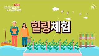 [대한민국 도시농업박람회] _ 감성힐링체험 수경식물키우…