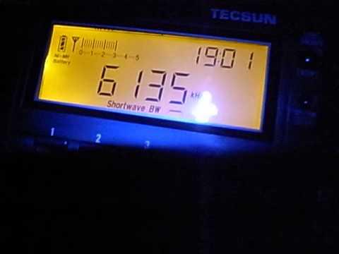 6135kHz Radio Yemen / Radio Sana'a (19:00UTC, Feb 12, 2014)