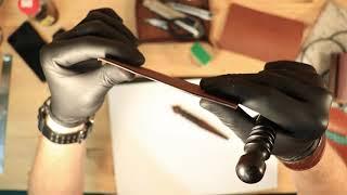 Jak zrobić portfel ze skóry? EDC Slim Wallet II - leatherwork tutorial - rękodzieło