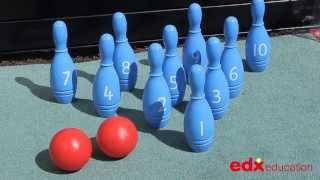 Number Skittles - Edx Education, Early Years, Gross Motor Skills & Mathematics