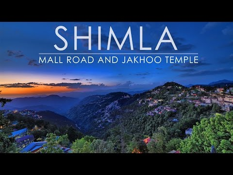 Shimla - Mall Road and Jakhoo Temple | Wandering Minds