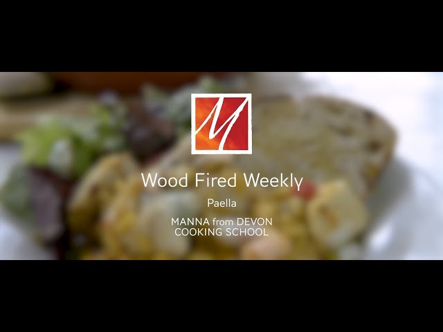 Manna from Devon's Woodfired Paella