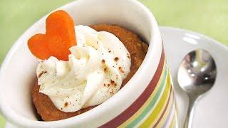 Mug Cake de Zanahoria | Carrot Cake | 2 Minutos en el Microondas