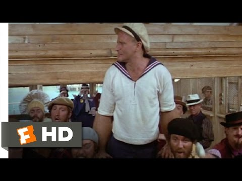 Popeye (6/8) Movie CLIP - I Yam What I Yam (1980) HD Mp3