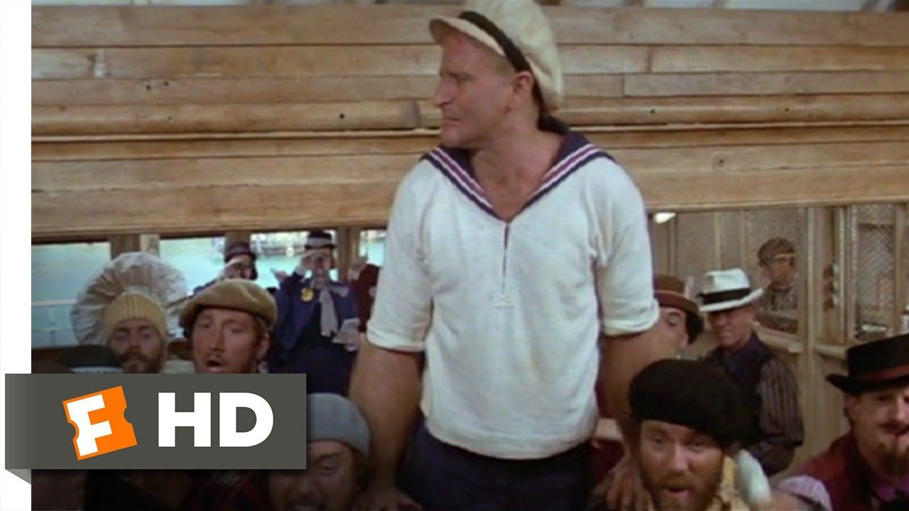 Popeye 6 8 Movie Clip I Yam What I Yam 1980 Hd Youtube