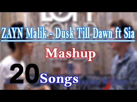 ZAYN - Dusk Till Dawn Ft Sia - Mashup 20 Songs Cover Conor Maynard And Madison Beer