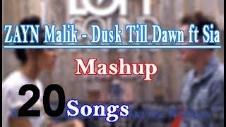 Gambar cover ZAYN - Dusk Till Dawn ft Sia - Mashup 20 songs cover Conor Maynard and Madison Beer