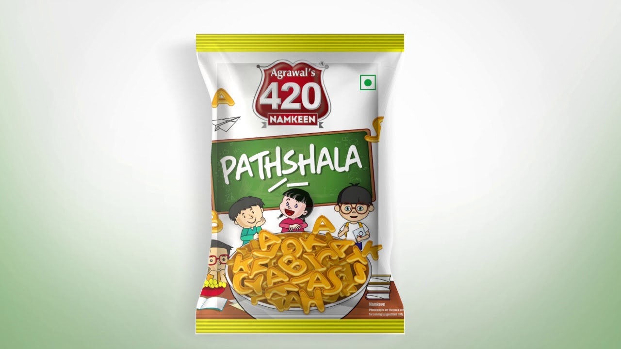Pathshala | A new way for learning through munching | #snacks by 420 Namkeen