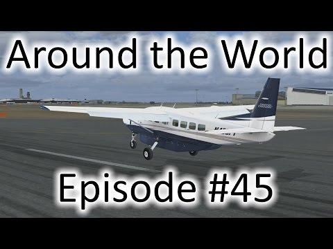 FSX | Around the World Ep. #45 - Osaka to Tokyo