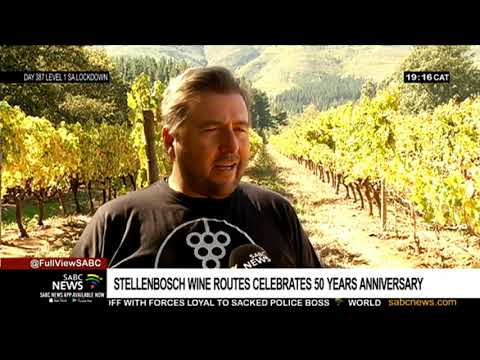 Stellenbosch Wine Routes celebrate 50th anniversary