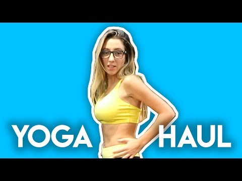Best Yoga Outfits  YogaClub  Yoga Haul  Lauren Francesca