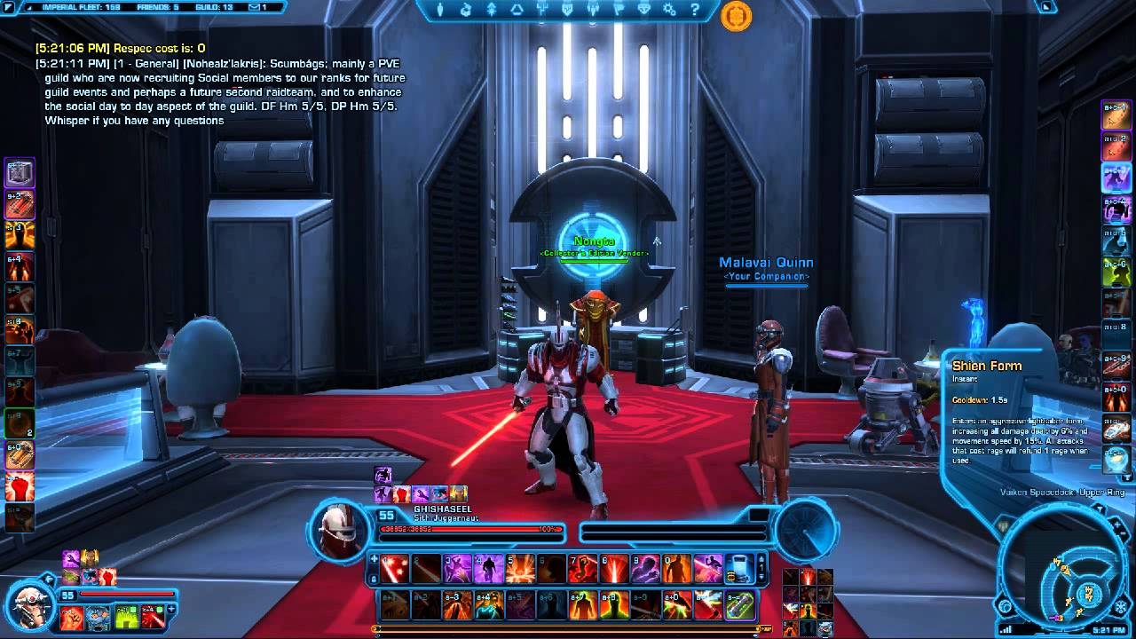 SWTOR respec with Autohotkey - YouTube