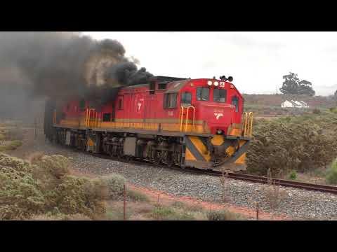 Failed Locomotive - South African Class 35 - GE U15C
