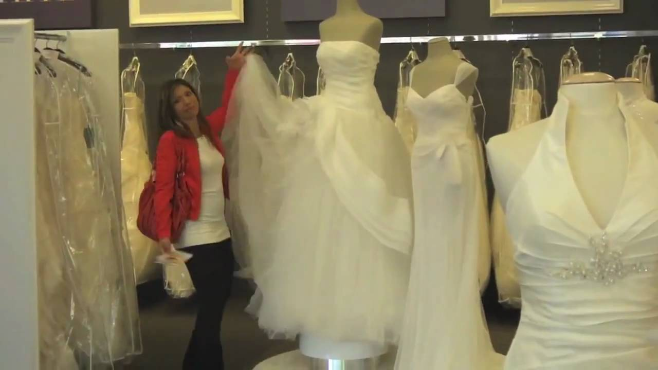 Finding the Perfect Wedding Dress (for a Dancer) Part 1 - YouTube
