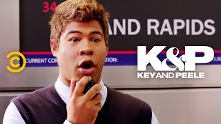 Boarding a Plane Shouldn't Be This Hard - Key & Peele