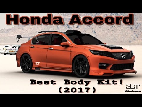 Best Modified Honda Accord With Full Body Kit Must Watch 2017