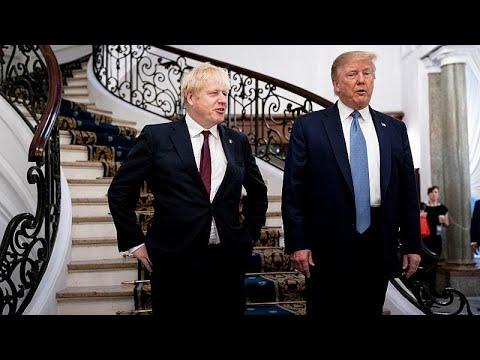 ترامب يعد بريطانيا باتفاق تجاري -كبير جدا- بعد بريكست  - نشر قبل 3 ساعة