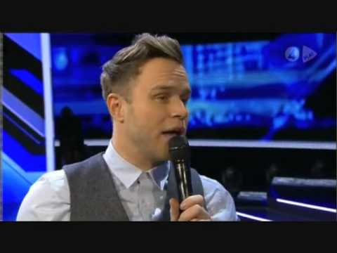 Olly Murs - Interview on Xtra Factor Sweden 2012 - Olly kisses Marie Serneholt