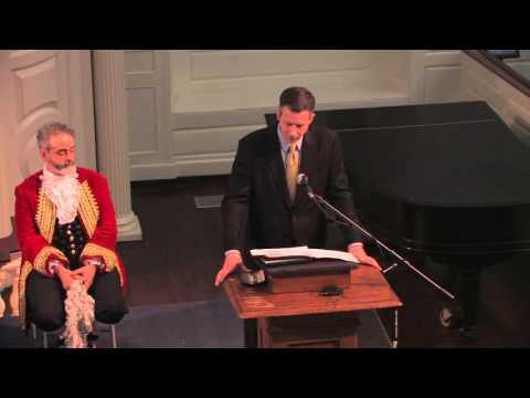 Notre Dame Boston Massacre Trial Re-Enactment