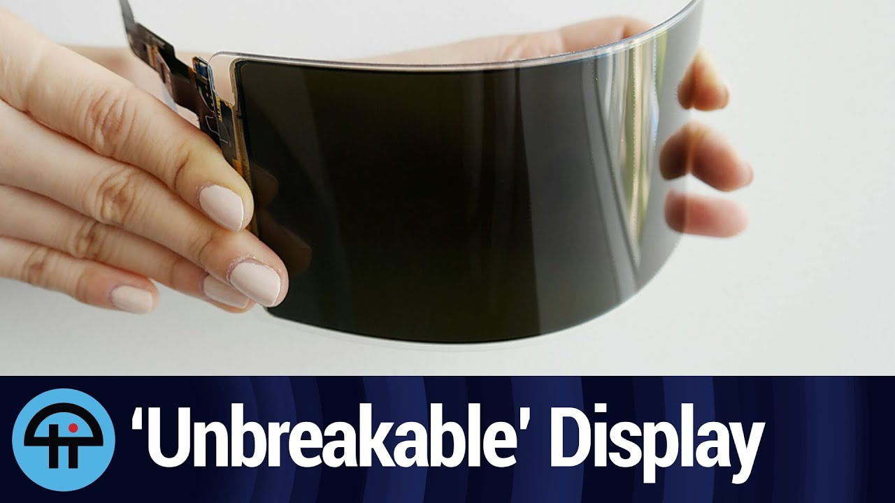 Samsung Display Says Unbreakable, Flexible Screen Passes US Safety Test
