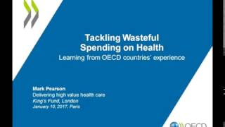 Mark Pearson: Tackling Wasteful Spending on Health