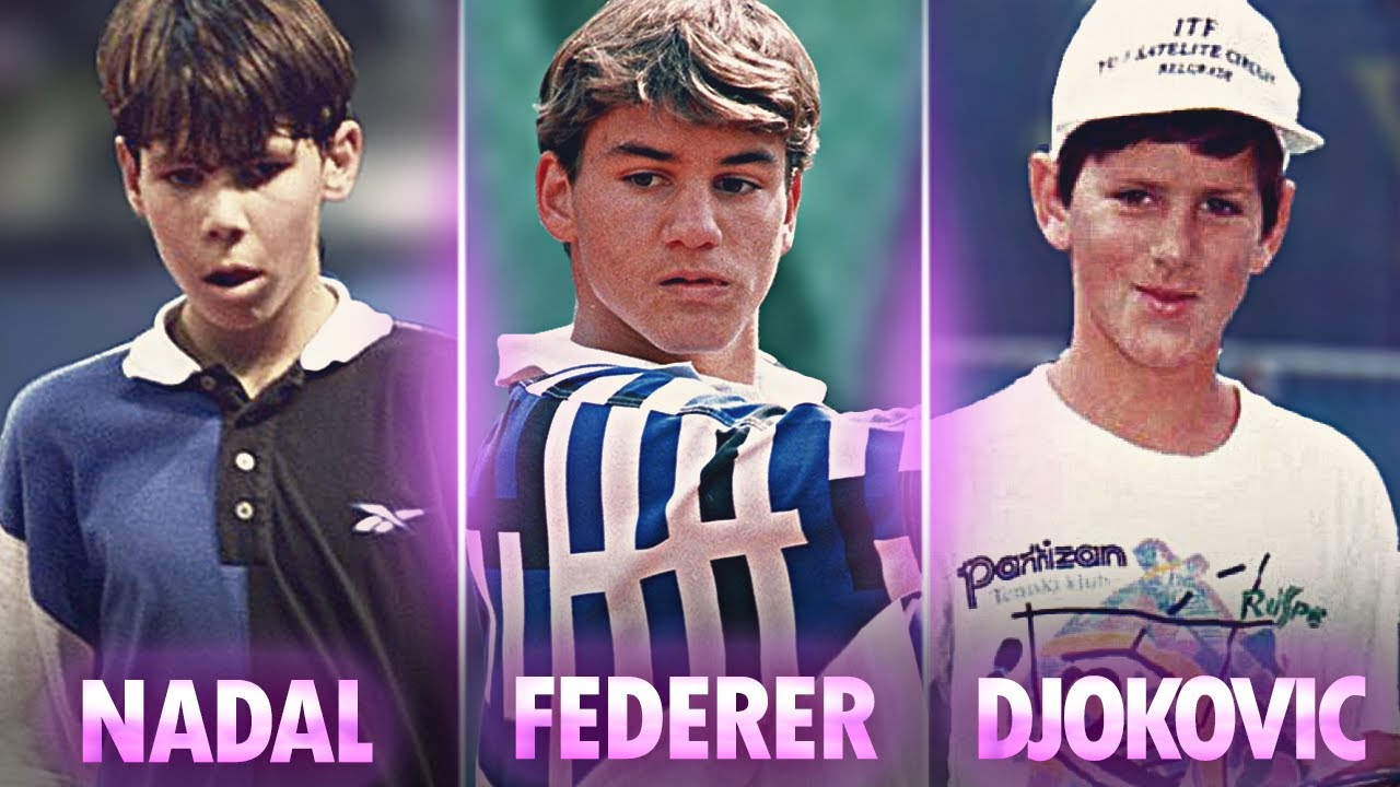 Download Tennis Players When They Were Kids!