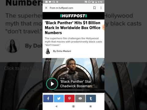 Black Panther Joins The Billion Dollar Club