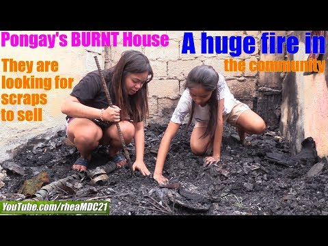 Travel to Manila Philippines and Meet the Fire Victims. Pongay's House got Burnt! Trip to Vietnam