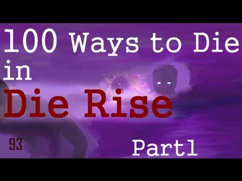 100 Ways to Die in DIE RISE - Part 1 - Black Ops 2 Zombies