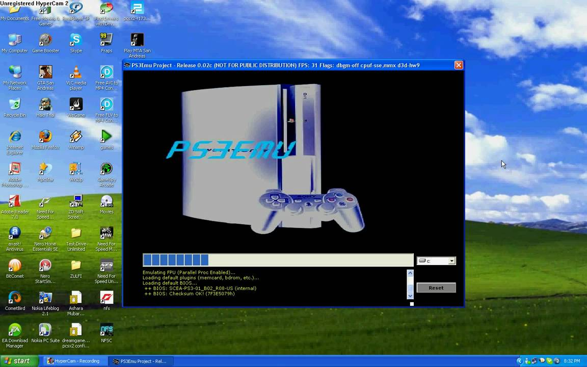 ps3 emulator pcsx3.rar