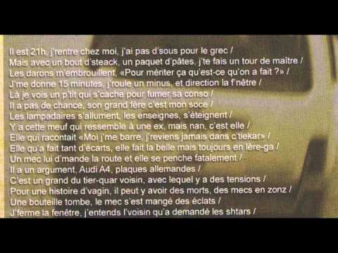 Hugo tsr fen tre sur rue lyrics paroles youtube for Fenetre sur rue