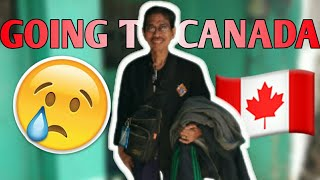 VLOG #2: PAPA ROMY IS GOING TO CANADA!  *emotional*
