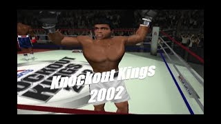 Playing Knockout Kings 2002 in 2019