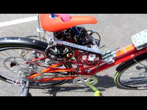 [改造自転車] アクメ自転車を作ってみた。性能は従来機の3倍![Dildo Bike! The Fun Bike For Only Women!]]
