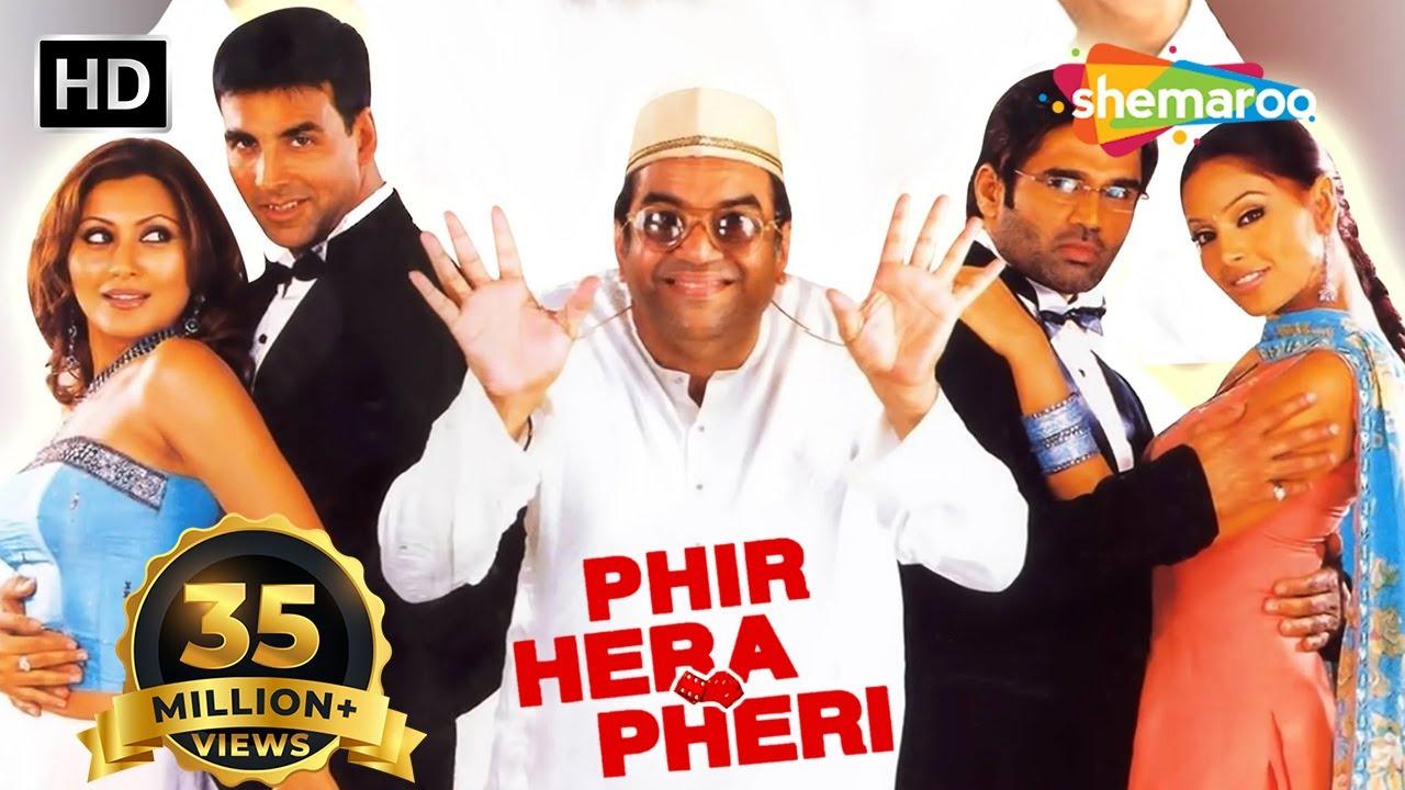 Download Phir Hera Pheri (2006) | Akshay Kumar |Suniel Shetty |Paresh Rawal |Rimi Sen | Bipasha Basu | Comedy