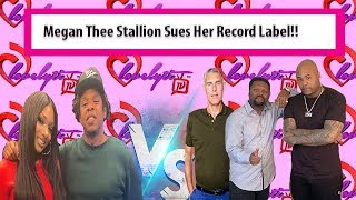 "Megan Thee Stallion Sues Record Label~claims she was""young""& Naive when she signed contract #SIDEEYE"