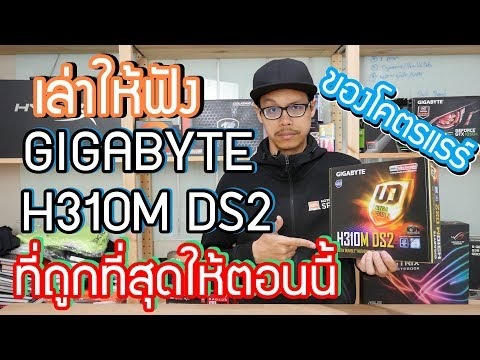 Review Gigabyte H310M SD2 เมนบอร์ดโคตรถูก ประกอบคอมได้ ไม่ต้องแพง