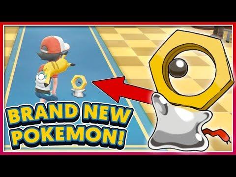 Pokémon BIG NEWS UPDATE: Brand New Pokémon 'Meltan' Revealed!