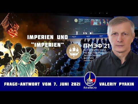Die USA gehen unbeirrt den Weg der UdSSR (Valeriy Pyakin 2021.06.07)