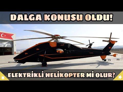Tusaş'ın Yeni Sürprizi Dalga Konusu Oldu! Elektrikli Helikopter Olur Mu?