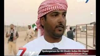 H H. Sheikh Hamdan bin Zayed visits Al Dhafrah Festival
