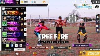 FREE FIRE BATTLEGROUNDS NA VIDA REAL 6