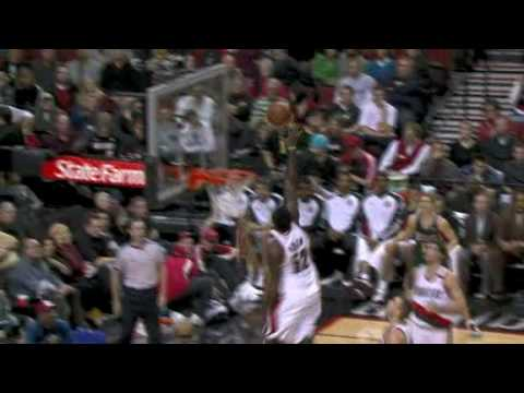 NBA - Top 10 Blazers Plays of 2008-2009