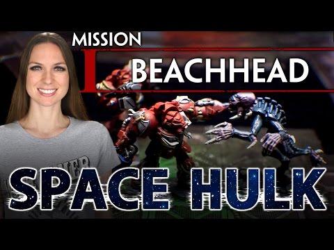 Space Hulk Board Game - Mission 01: Beachhead